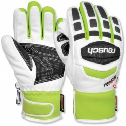 Gloves  REUSCH TRAINING R-TEX white/neon green