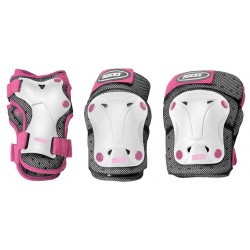 Roces protective gear white pink